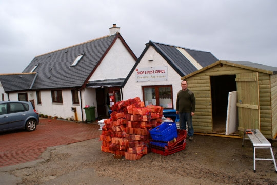 Applecross Village store and Post Office